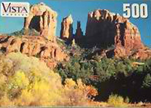 Cathedral Rocks - Sedona, Arizona USA - 500 Piece Jigsaw Puzzle by Vista - 1