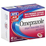 Rite Aid Pharmacy Omeprazole, 20 mg, Delayed Release Tablets, 42 tablets
