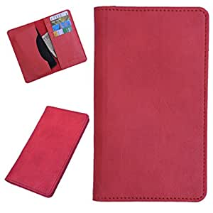 DCR Pu Leather case cover for Blu Life Play X (red)