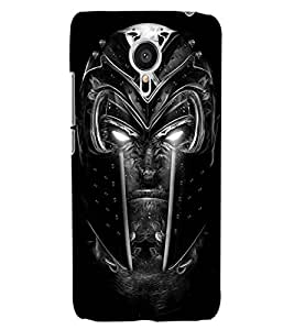 ColourCraft Scary Face Design Back Case Cover for MEIZU MX5