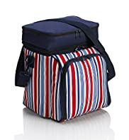 Striped Extra Large Cool Bag