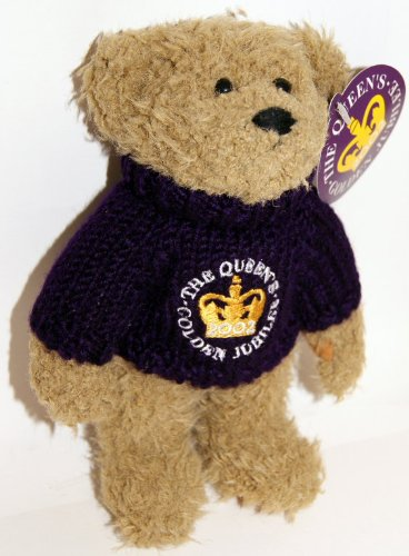 Jumper Bear For The Queen's Golden Jubilee 2002  - Collectable