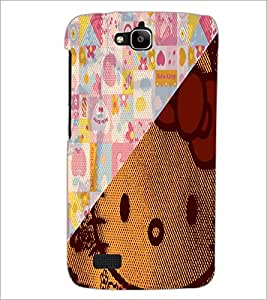 PrintDhaba Abstract Image D-4910 Back Case Cover for HUAWEI HONOR HOLLY (Multi-Coloured)