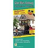 Radwanderkarte Leporello Glan-Blies-Radweg, Sarreguemines - Staudernheim: Mit Ausflugszielen, Einkehr- & Freizeittipps, Entfernungen und Höhenprofil, ... reißfest, abwischbar, GPS-genau. 1:50000