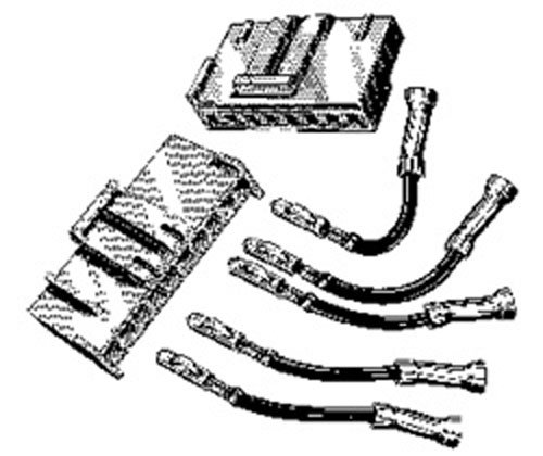 ford engine fan harness connector kit e4fz