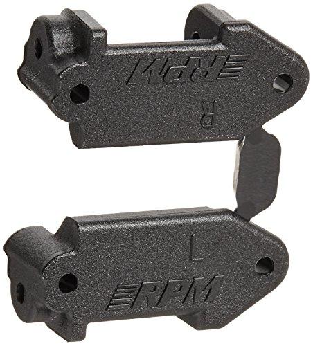 RPM Caster Blocks Electric 2WD Slash, Stampede, Rustler, Nitro Slash, Black (Rpm Rustler Parts compare prices)