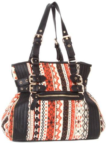 Melie Bianco Taryn Shoulder Bag,Black,One Size