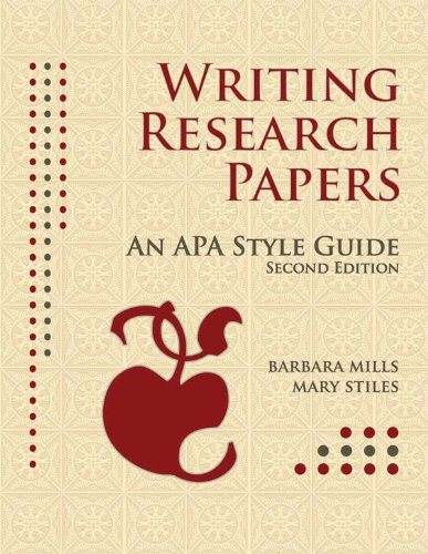 a guide for writing research papers apa style A guide for writing research papers (t piske) 4 32 apa reference style the apa publication manual instructs authors to use hanging indents for references, and to use.
