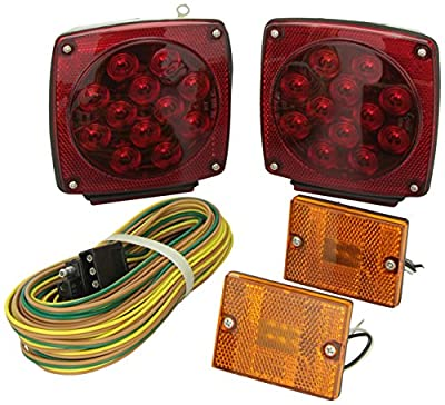 Grote 653305 Submersible LED Trailer Lighting Kit
