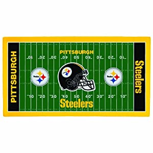NFL Pittsburgh Steelers 28 x 52-Inch Floor Mat by WinCraft
