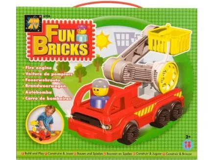 Fun Bricks Fire Engine