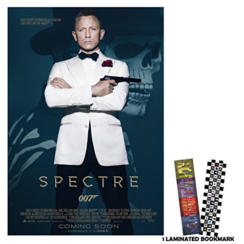 "Spectre 007 (2015) - Main - Movie Poster Reprint 13"" x 19"" Borderless"