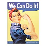 Rosie the Rivetor Tin Sign , 13x16