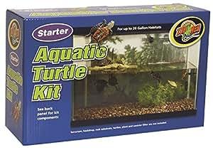 amazon   zoo med starter aquatic turtle kit pet care