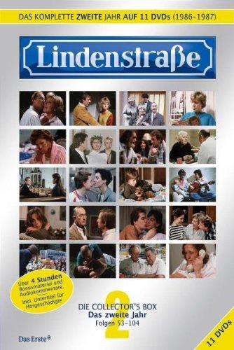 Lindenstraße - Das komplette 2. Jahr (Folge 53 - 104) (Collector's Box, 11 DVDs)