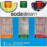 Sodastream 3 x 0.5L Carbonation Bottles