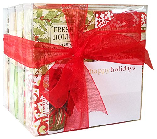 Christmas-All-Seasons-Soap-Sampler-Boxed-Set-of-16-Assorted-Scents