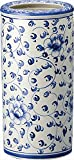 陶器傘立て 【傘立て 陶器 白 スリム かわいい おしゃれ おすすめ 人気】