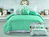 RT Designers Collection Crowne 6 Piece Hotel Collection Comforter Set, King