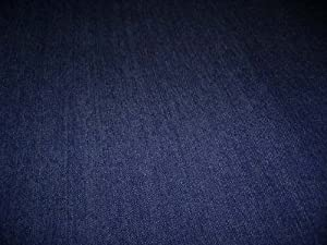 Brand New Real Denim Jean Full Size Futon Mattress Cover, Thick and Durable Dark Blue Denim.