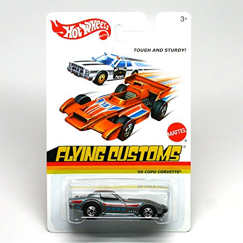Hot Wheels 2013 Flying Customs Copo Corvette 1:64 Scale