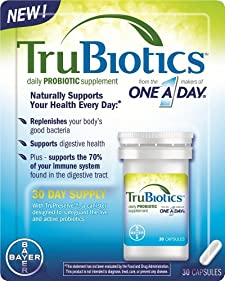 TruBiotics Probiotic Supplement, Daily, Capsules, 30 capsules