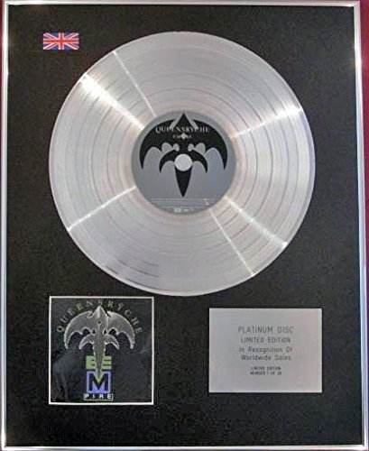 queensryche - CD platinum disc- Empire
