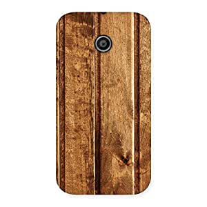 Gorgeous Wood Texture Back Case Cover for Moto E