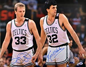 Signed Larry Bird & Kevin McHale Boston Celtics Photo - 16x20 - PSA DNA Certified... by Sports Memorabilia