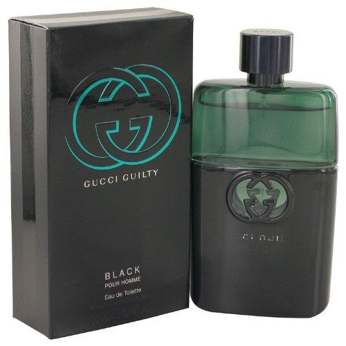 Gucci Guilty Black By Gucci Eau De Toilette Spray 3 Oz For Men