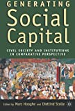 img - for Generating Social Capital: Civil Society and Institutions in Comparative Perspective book / textbook / text book