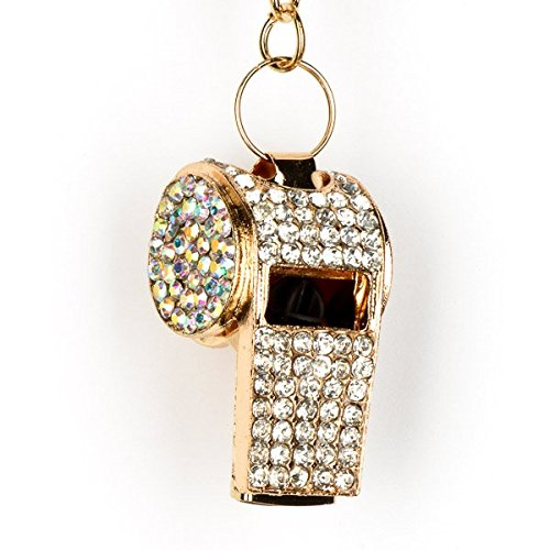 Lilly Rocket Rhinestone Whistle Key Chain With Swarovski Crystal (Whistle Chain compare prices)