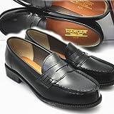 HARVAR [ハーバー] ローファー通学靴No48 BK 24.0