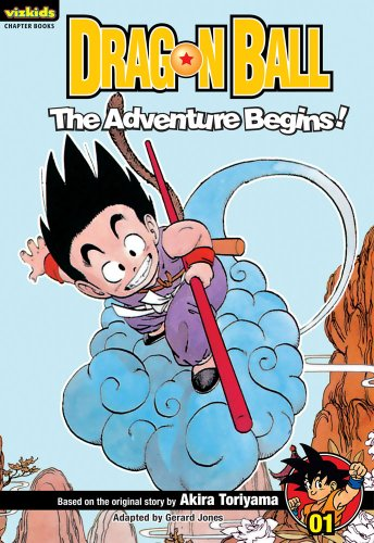 Dragon Ball Chapter Book 01 Adventure Begins (Dragon Ball Chapter Books)