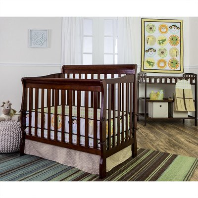 Dream On Me Animal Kingdom 5 Piece Reversible Full Size Crib Se - 1