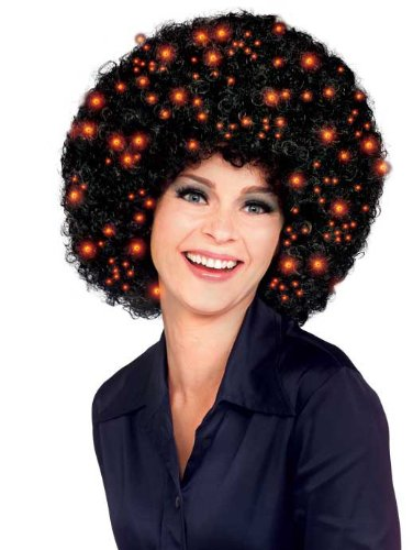 Rubie's Costume Fiber Optic Afro Wig