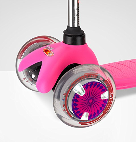Micro Scooter Wheel Whizzer Pink Boys Girls Scooter Accessory Light up flashing