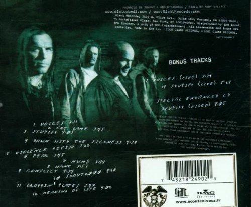 cd disturbed the sickness