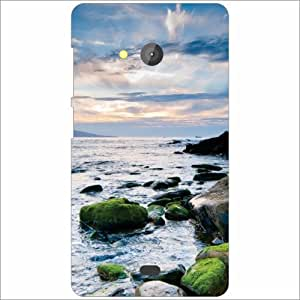 Microsoft Lumia 540 Dual SIM Back Cover - Cool Water Designer Cases