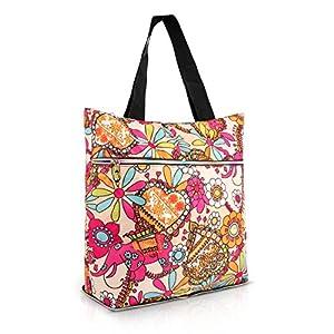 Tote Bag, Tengyue Folding Travel Tote Shopping Tote Weekender Bag Beach Bag