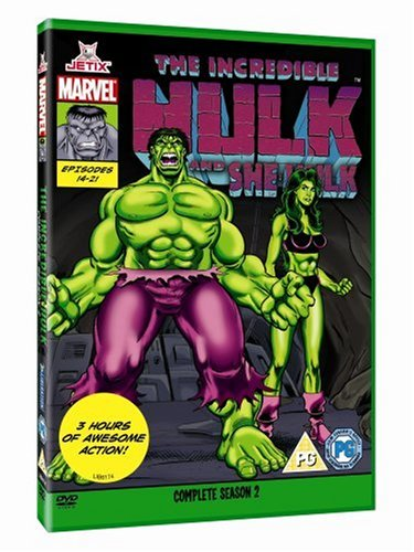 The Incredible Hulk - Complete Season Two (marvel Originals Series - 90s) [dvd] [1996] Picture