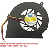 Lapmate CPU Cooling Fan For HP COMPAQ CQ58 G58 650 655 Laptop F2036 HP 2000 686259-001 Fan 4 Pin (Not Suitable...