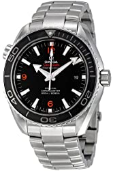 Omega Men's 232.30.46.21.01.003 Planet Ocean Big Size Black Dial Watch