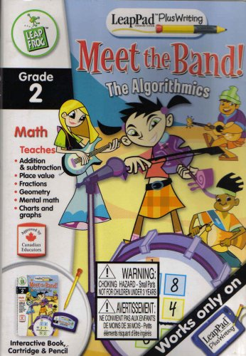 Leappad Plus Writing Meet the Band the Algorithmics - Buy Leappad Plus Writing Meet the Band the Algorithmics - Purchase Leappad Plus Writing Meet the Band the Algorithmics (Leap Pad, Toys & Games,Categories,Electronics for Kids,Learning & Education,Toys)