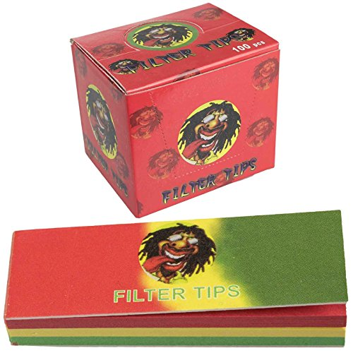 rasta-themed-cigarette-roaches-filter-tips-rolling-paper-card-50-page-per-booklet-red-green-yellow-1