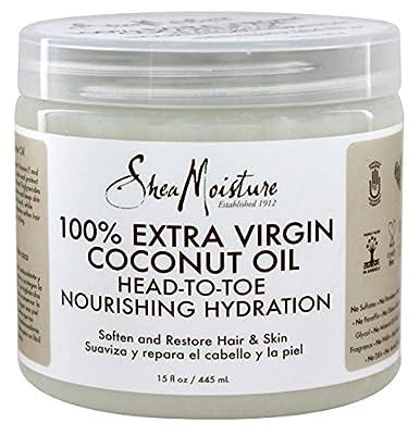 Shea Moisture 100% Xtra-Virgin Coconut Oil 15oz Head-To-Toe