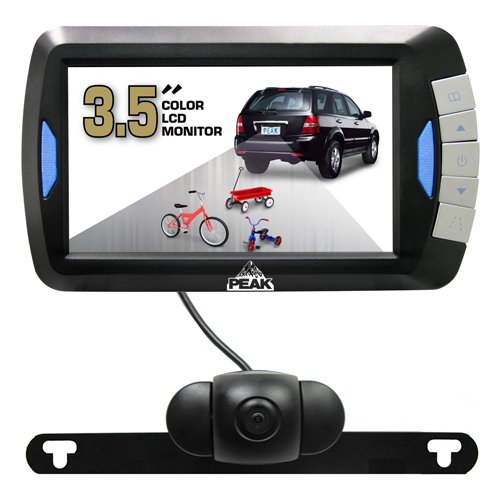 Discover Bargain Peak PKC0RB Wireless Back-Up Camera System with 3.5-Inch LCD Color Monitor