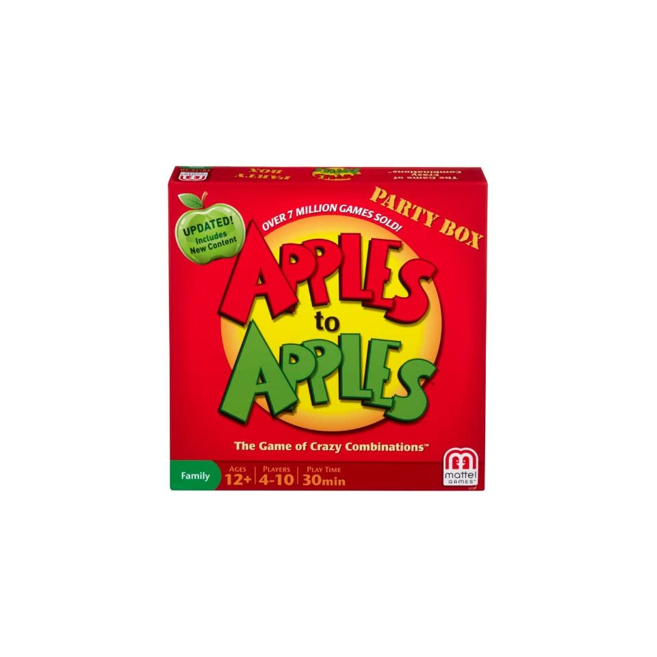Apples to Apples Party Box   The Game of Crazy Combinations (Family Edition) Toys & Games