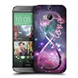 Head Case Designs Love Infinity Collection Protective Snap-on Hard Back Case Cover for HTC One M8