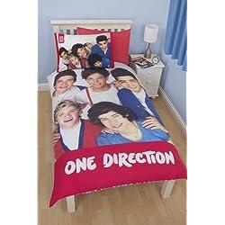 One Direction Craze Panel Single Duvet Cover